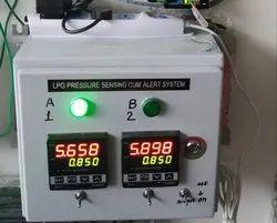 Gas Pressure Sensing Cum Alert System