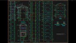 Steel Onsite DESIGN ELEVATOR STRUCTURE, Pan India