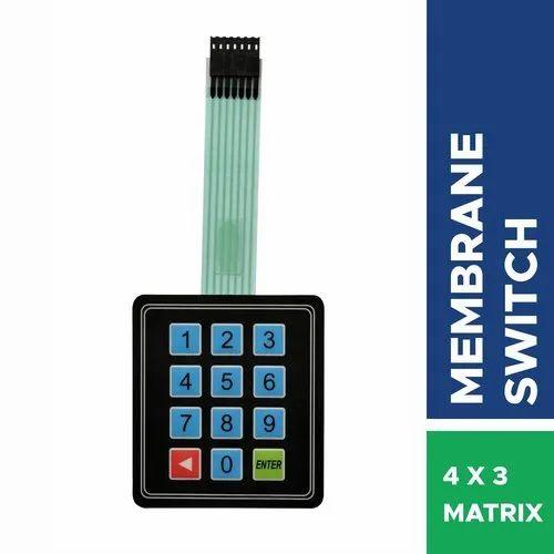 Best Quality 3x4 Universal Matrix Membrane Switch Keyboard For Arduino