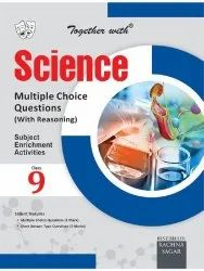 English Class 9 Together with Science Multiple Choice Questions Book