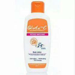 Glutathione & Vitamin C Gluta-C Intense Whitening Body Lotion, Skin Type: Normal Skin, Packaging Size: 150 Ml