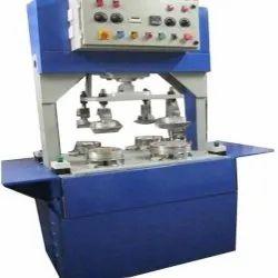 Three Die Semi Automatic Hydraulic Paper Plate Making Machine