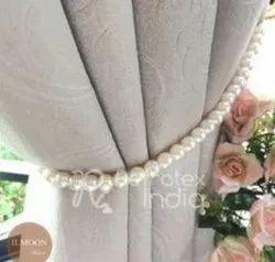 Pearl Bead Curtain Tieback