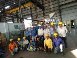 男性机械工作建筑人力服务,潘印度