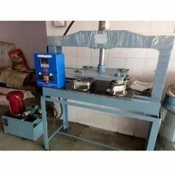 Semi Automatic Manual four Die Plate Machine