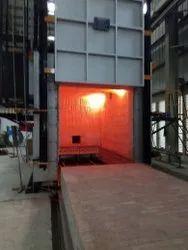 Gas Fired Bogie Hearth Furnace