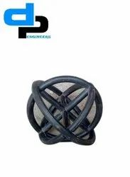 Active Gray LPS Ball Type Fills, For Cooling Tower Size 2x2 Inch