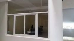 Muskuri Glossy 3 Track Sliding Windows with mesh, For Residential
