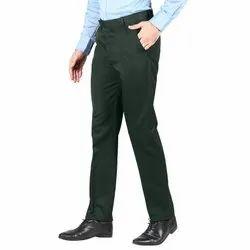 Slim Fit Men Polyester Viscose Blend Trousers 510