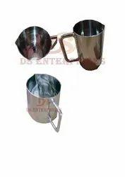 Circular Stainless Steel Beakers 250ml, For Industrial