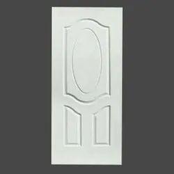 Polished Interior White HDF Moulded Door, For Home,Hotel etc, Rectangular