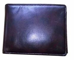 Brown Mens Bifold Leather Wallet