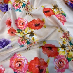 Digital Printed Muslin Fabric