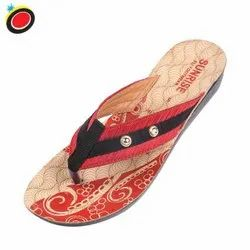Synthetic Leather 106 Ladies PU Slippers