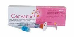 Cevarix Cervarix Vaccine Injection, 0.5 Ml, Prescription