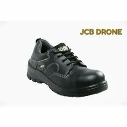 JCB Drone Leather Industrial Safety Shoes