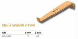Non Sparking S Type Drum Opener