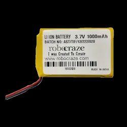 3.7v Li Ion 1000mah