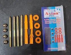 4 Pin Rack Bolt Set