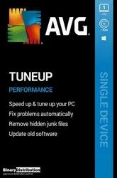 1 Year AVG PC Tuneup Software With 1 PC