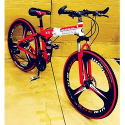 BMW Steel Folding Fat Bicycle