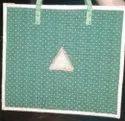 Green Plain Jute Decorative Fabric Bag, For Shopping