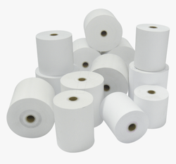 KRISHNA Plain Thermal Paper Roll 79mm X 50mtrs, GSM: Less than 80 GSM