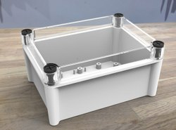 Transparent ABS- PC Box Enclosures, 66, Size/Dimension: 180mm - 130mm - 100 Mm