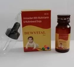 Antioxidant With Multivitamin & Multimineral Drops