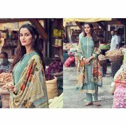 Sahiba Cotton Dress Material With Cotton Mal Dupatta