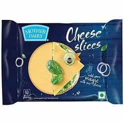Mother Dairy Cheese Slice, Packaging Size: 200 Gm, Packaging Type: Pouch