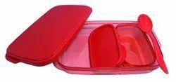 Kotak Sales Unbreakable Divine Lunch Box Set Food Grade Plastic BPA-Free Storage Tiffin