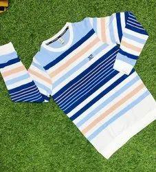 Full Sleeves Knitted Mens Matty T Shirt