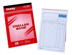 Delivery Challan Notebook