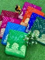 Taffeta Silk With Zari Weaving