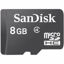Sandisk 8 GB Micro SD Memory Card Class 4, For MOBILE