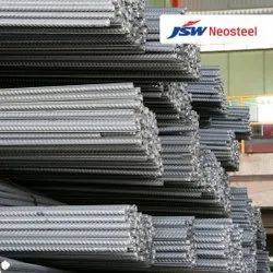 Max 20 mm JSW Neosteel 550 D TMT Steel Bars, Unit Length: 12 m