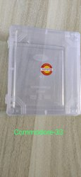 commodore 33 plastic transparent box
