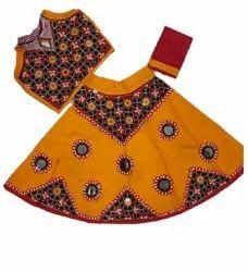 Festive Wear Embroidered Kids Fancy Lehenga Choli