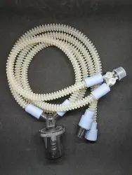 Reusable Silicone Neonatal Single Water Trap Ventilator Circuit