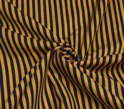 Polyester Cotton Shirt Stripe Fabric