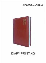 Custom 4-5 Days Diary Printing Service, in Mumbai