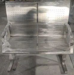 Ss 2 Seater Waiting Chair