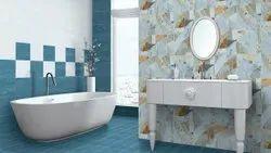 Ceramic Mosaic Gloss Digital Bathroom Wall Tile, Thickness: 0-5 mm, Size: 8x12 Inch