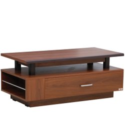 Brown Rectangular Modular Wooden Coffee Table, For Home
