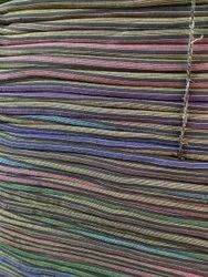 Cotton Polyester Mattress Lining Checked Fabric, GSM: 150