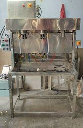 Best Semi Automatic 2 Head Carbonate soft drink filling machine