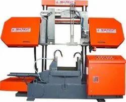LMG-800 M Double Column Semi Automatic Band Saw Machine (Without Pusher)