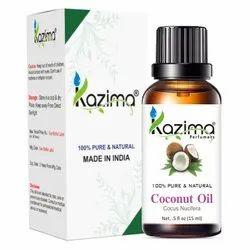 Kazima椰子油,私人客厅,包装尺寸:15毫升