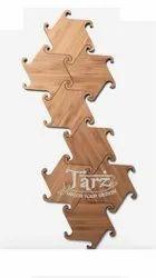 Wooden Wall Art- 05 (Size: 225 MM Diameter / Piece)
